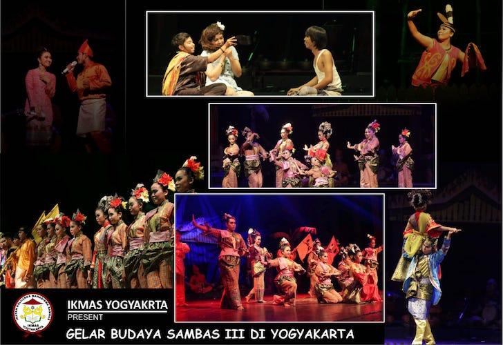 IKMAS Gelar Budaya Sambas III Yogyakarta