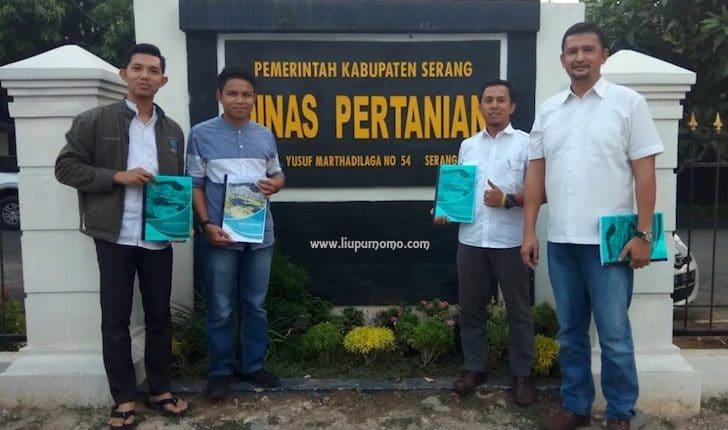 Pelatihan Drone Dinas Pertanian Pemerintah Kabupaten Serang