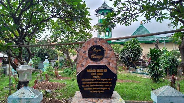 Tugu Cagar Budaya Masjid Jami Kalipasir