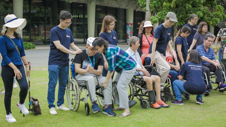 RGE Founders Day Stroke Support Station Singapore Survivors